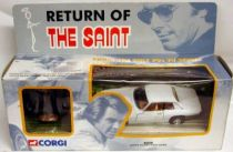 Corgi - The Saint\'s Jaguar XJS 1:36 scale with figure (mint in box re-issue)