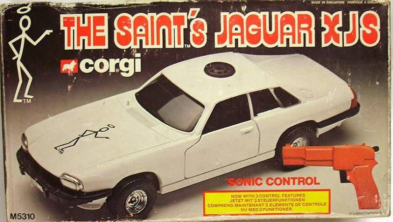 Corgi - The Saint\'s Sonic Control Jaguar XJS 1:24 scale (mint in box)