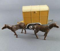 Corgi Toys 102 Remorque Hippomobile Avec Chevaux d\'origine