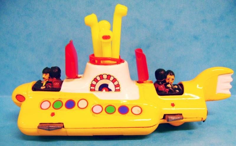 Corgi Yellow Submarine (original release) loose
