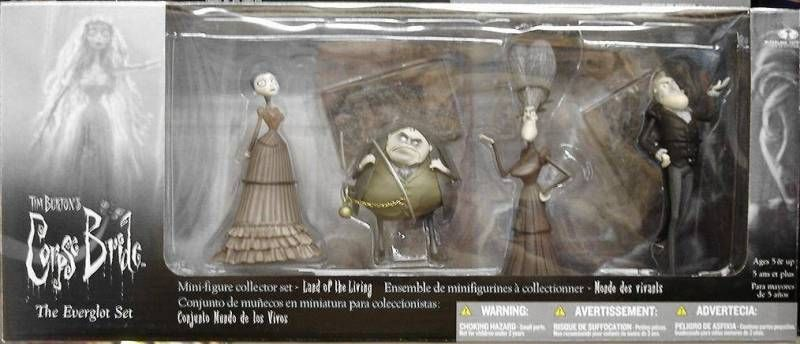 Corpse Bride PVC set - The Everglot set - McFarlane