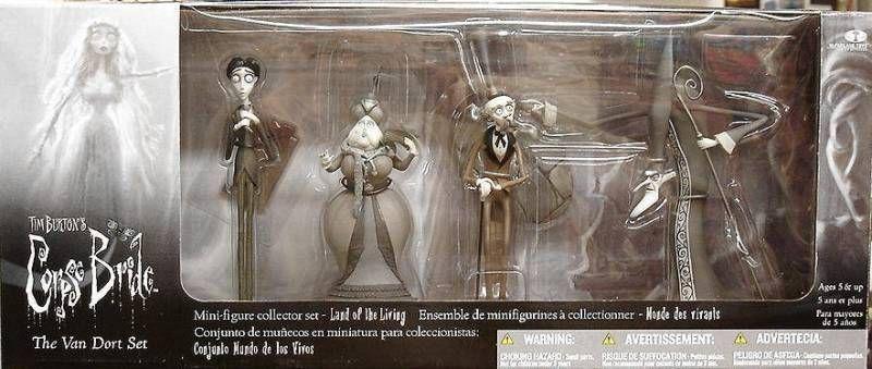 Corpse Bride PVC Set - The Van Dort set - McFarlane
