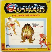 Cosmocats - Livre-Disque 45T - L\'Alliance des Mutants - Disque Ades  Le Petit Menestrel 1986