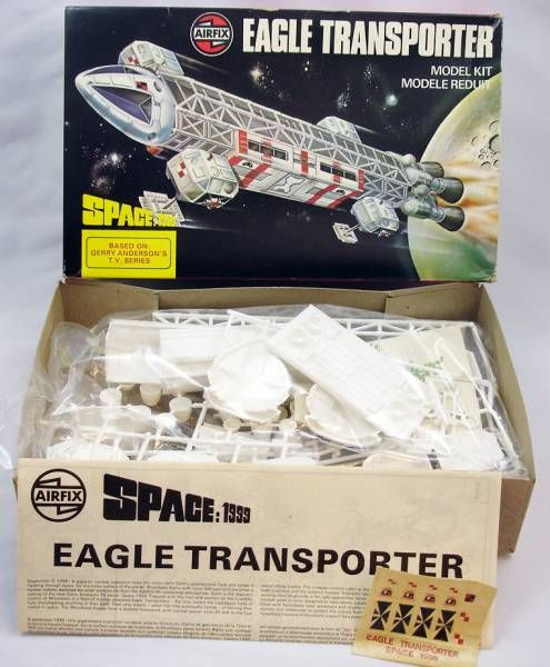 Cosmos 1999 - Maquette plastique Airfix - Eagle Transporter