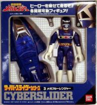 (cPower Rangers in Space / Megaranger - Blue Cyberslider