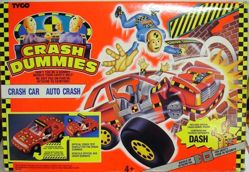 Crash Dummies - Crash Car (loose with box)