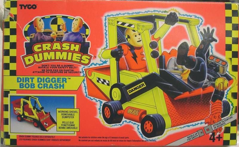 Crash Dummies - Dirt Digger (loose with box)