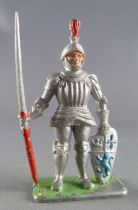 Crescent Toy - Middle-Age - Knight with spear & shield