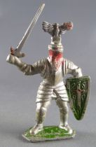 Crescent Toy - Middle-Age - Knight with sword & shield eagle feather