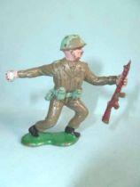 Crescent Toy - WW2 - British Infantry throwing grenade