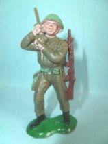 Crescent Toy - WW2 - British Infantry walkie talkie