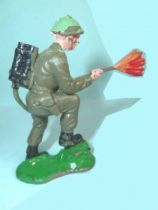 Crescent Toy - WW2 - Infanterie Anglaise lance-flamme
