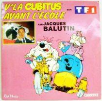 Cubitus - Mini-LP Record - Here is Cubitus & Before the school - Carrere/Kid Music 1986