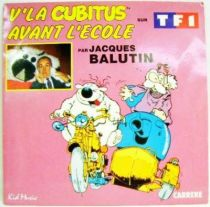Cubitus - Mini-LP Record - Here is Cubitus & Before the school - Carrere/Kid Music 1986
