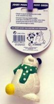 Cubitus mint Friskies advertising squeeze toy