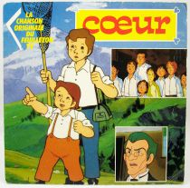 Cuore - Mini-LP Record - Original French TV series Soundtrack - AB Kids 1990