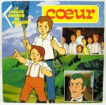 Cuore - Mini-LP Record - Original French TV series Soundtrack - AB Kids 1990