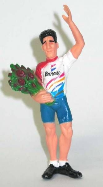Cycliste Miguel Indurain pvc figure