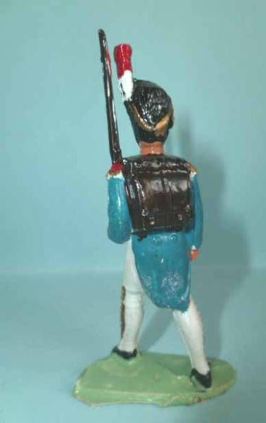 Cyrnos - Napoleonic - Footed Grenadier Marching Rifle on shoulder (light blue)