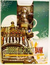 D-Toy / X-Plus Forbidden planet Robby Coin Bank/Alarm Clock