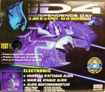D4 Independance Day - Ideal - Alien Starfighter (Mint in Box)