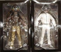 Daft Punk - Set of 2 12\'\' figures - Guy Manuel de Homen-Christo & Thomas Bangalter - Medicom Real Action Heroes