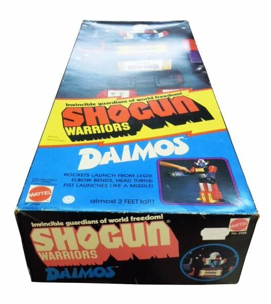 Daimos - Mattel Shogun Warriors Jumbo Machinder - Daimos (loose in box)