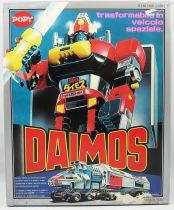 Daimos - Popy - Daimos DX GA-85 (Bandai France - Popy Italy box)