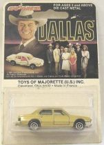 Dallas - BMW 733 - Mint on card Majorette 1:64