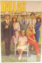 Dallas - Ewing Family - Schmid 1000 pieces Jiggsaw