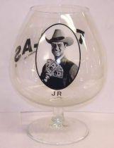 Dallas - J.R. Ewing alcohol glass