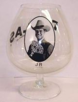 Dallas - J.R. Ewing alcohol glass