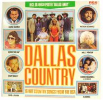 Dallas - LP records - Dallas Country : 16 hot Country songs from USA (Bonus: poster)