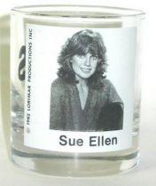 Dallas - Sue Ellen whisky glass