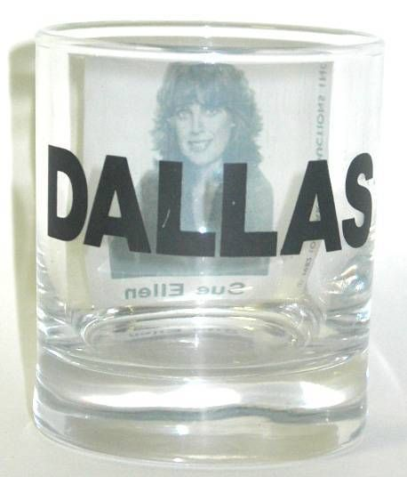 Dallas - Sue Ellen whisky glass