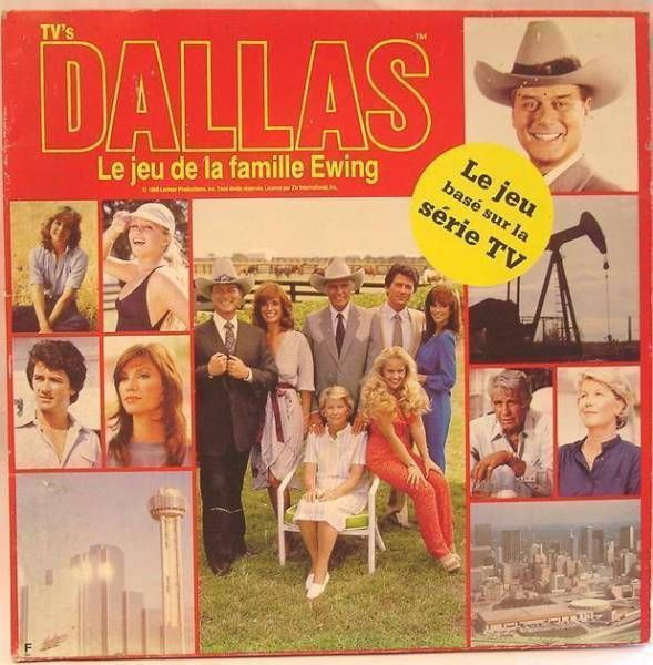 Dallas - The Ewing Family Board Game