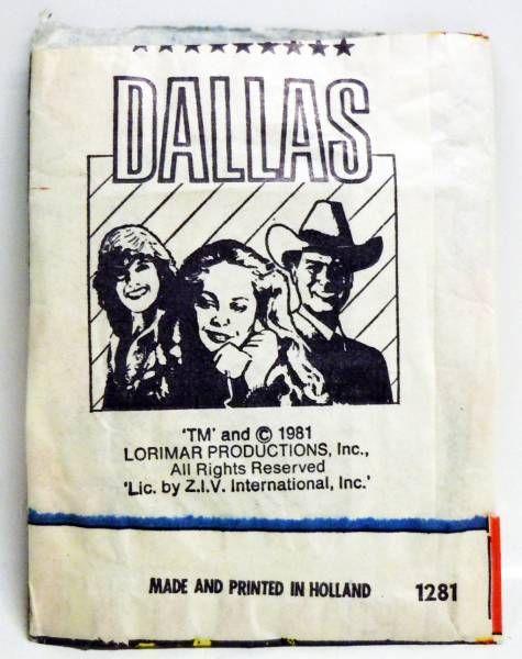Dallas - Tradding Card Set  (V.I.Z.)