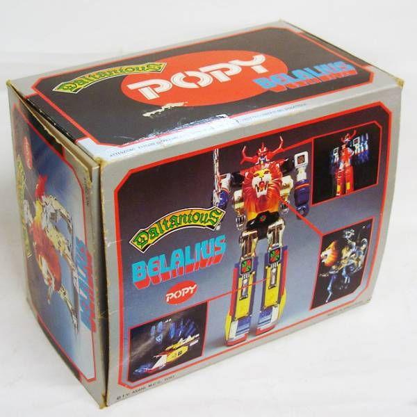 Daltanious - Popy - Belalius (loose with box)