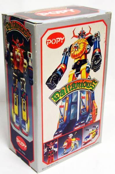 Daltanious - Popy - Daltanious ST (Mint in box)