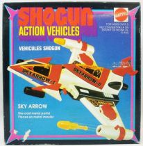 danguard_ace___shogun_action_vehicles_mattel___danguard_sky_arrow_neuf_en_boite
