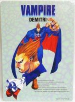 Darkstalkers - Capcom official Shitajiki - Demitri