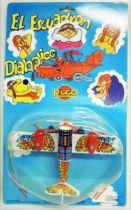 Dastardly and Muttley in Their Flying Machines - Rico - Fire Fox Airplane