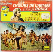 Davy Crockett - Disque 45T La Ballade de Davy Crockett - Disques Ades 1986
