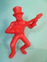 Davy Crockett - Figurine La Roche aux F�es - S�rie 1 - Joueur de banjo