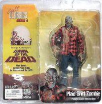 Dawn of the Dead - Plaid Shirt Zombie - Cult Classics series 4 figure