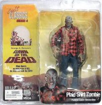 Dawn of the Dead - Plaid Shirt Zombie - Cult Classics series 4 figure
