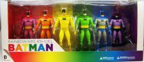 DC Collectibles - Batman Rainbow Set (6-Pack)