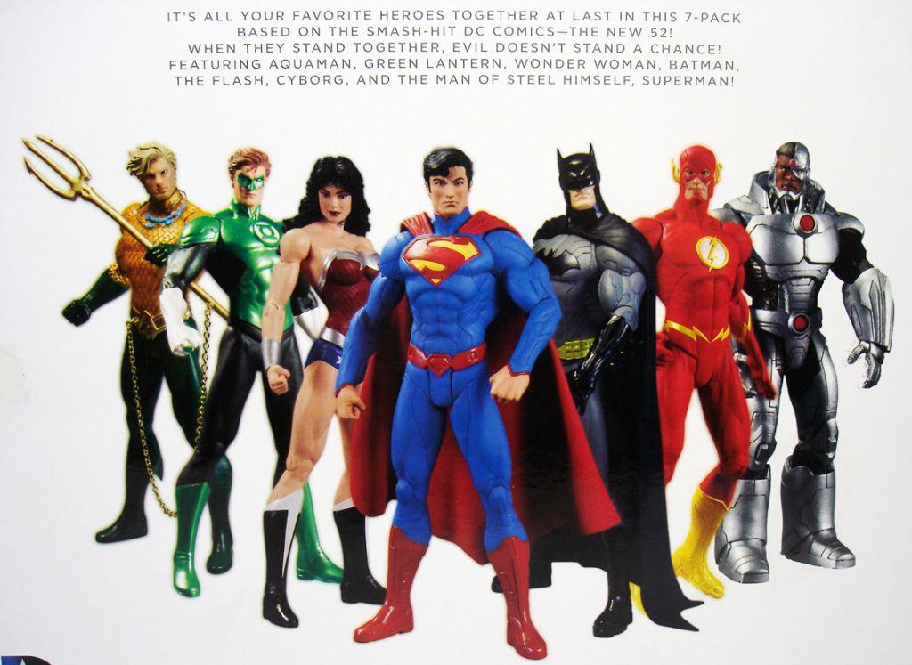 DC Comics - The New 52 Justice League boxed set : Batman ...