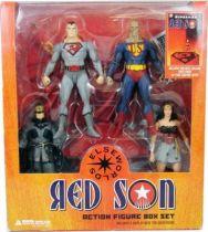 DC Direct  -  Superman Red Son boxed set : Bizarro, Batman, Wonder Woman, Superman