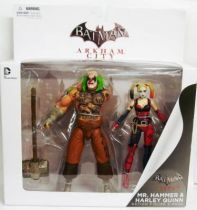 DC Direct - Batman Arkham City - Mr. Hammer & Harley Quinn